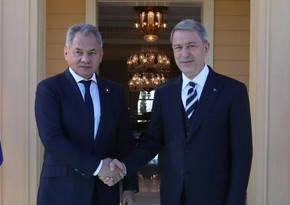 Defense Ministers of Russia, Turkey discuss Karabakh