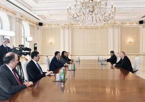 Президент Азербайджана принял министра сельского и лесного хозяйства Турции