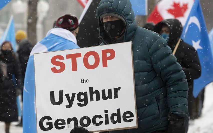 Kanada parlamenti Çinin uyğurlara qarşı soyqırımını tanıyıb