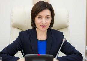 Санду назначит временного главу правительства Молдовы 1 января