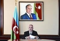 Васиф Талыбов - председатель Верховного меджлиса Нахчыванской  Автономной  Республики
