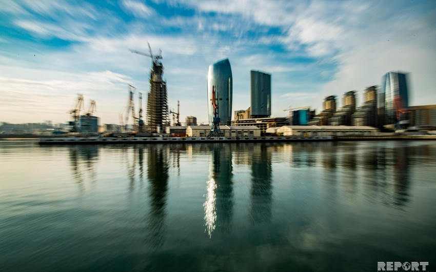 Blue Caspian of the White City - PHOTOREPORT