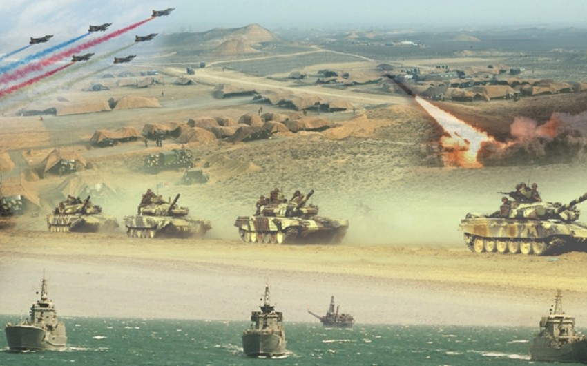 Azerbaijani Armed Forces launched large-scale exercises