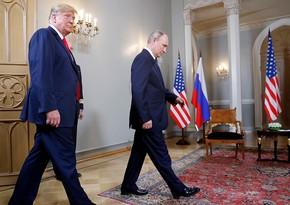 Tramp Putinlə münasibətlərindən danışıb