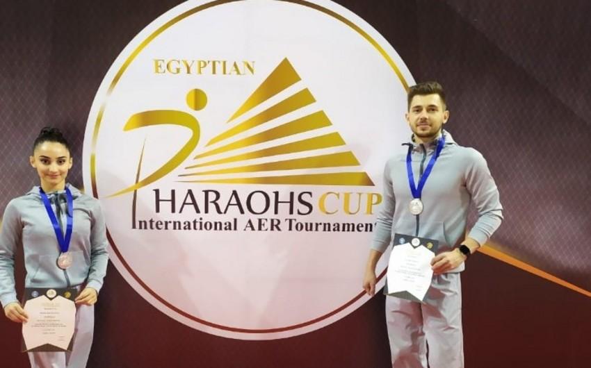 Azərbaycan gimnastları Misirdə gümüş medal qazandı