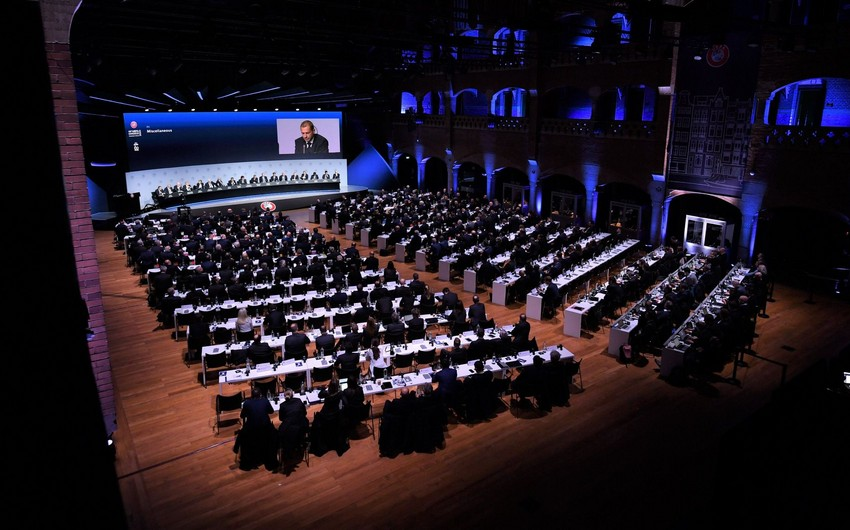 UEFA Konqresinin vaxtı və məkanı açıqlandı