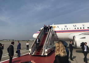 Pashinyan arrives in Moscow for meeting on Karabakh