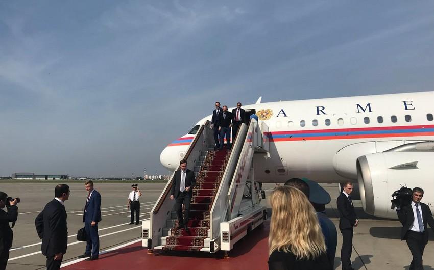 Пашинян прибыл в Москву на встречу по Карабаху
