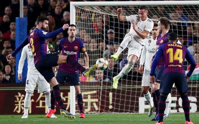 Barselona - Real Madrid oyunu heç-heçə başa çatıb - VİDEO