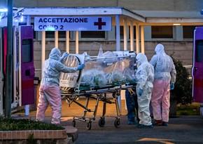 Koronavirus səbəbilə İtaliyada ölümlərin sayı 18% artıb