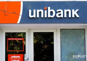 """""""Unibank"""" ötən il səhmdarlarına 5 milyon manatdan çox dividend ödəyib"""