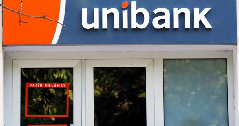 """""""Unibank"""" bu ilin I rübünü mənfəətlə başa vurub"""