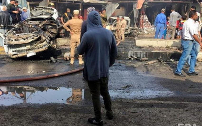 Mosulda partlayış nəticəsində ölən və yaralananlar var