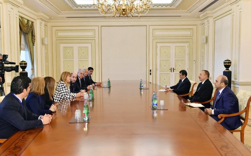 Ильхам Алиев принял вице-спикера Палаты депутатов Национального Конгресса Аргентины