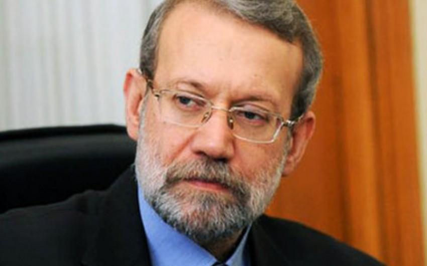 Əli Laricani: İran uranın zənginləşdirilməsini davam etdirəcək