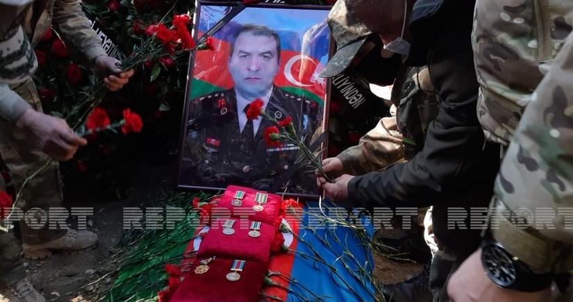 Похоронен ставший шехидом полковник Азербайджанской армии