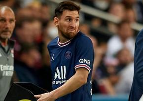 Messi daha bir oyunu buraxacaq