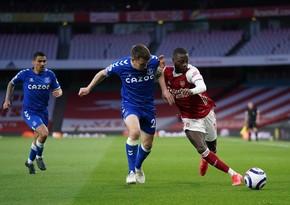 Arsenal öz meydanında Evertona uduzdu