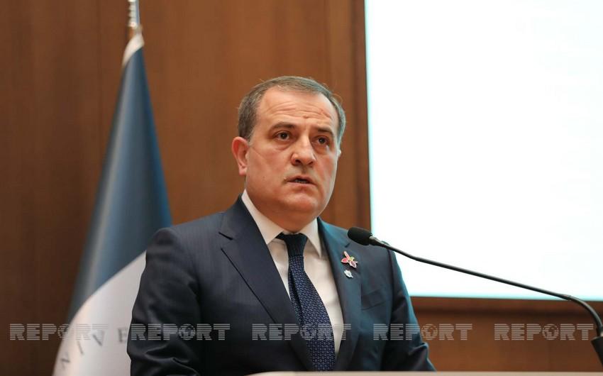 """Ceyhun Bayramov: """"Dünya birliyi Ermənistanın bu addımlarını qınamalıdır"""""""