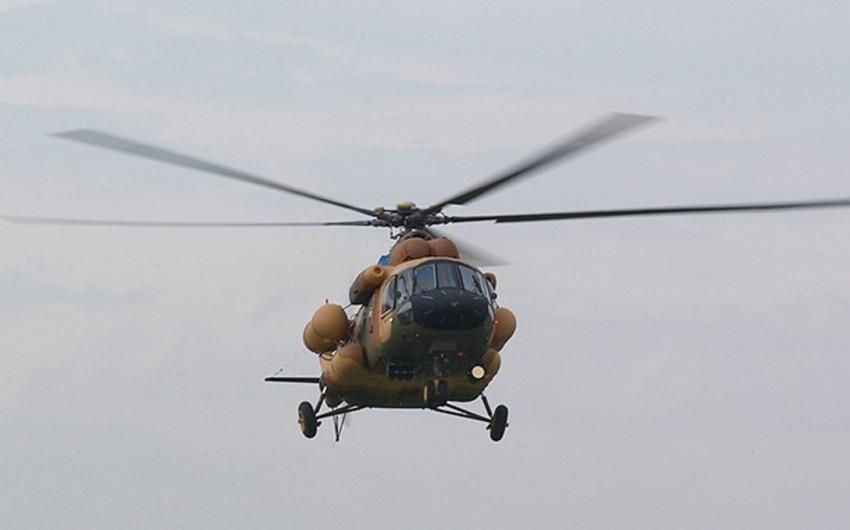 Meksikada hərbi helikopter qəzaya uğrayıb, xəsarət alanlar var