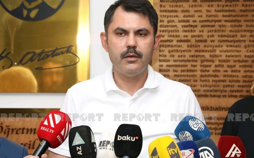 Турецкий министр отметил самоотверженность азербайджанских пожарных