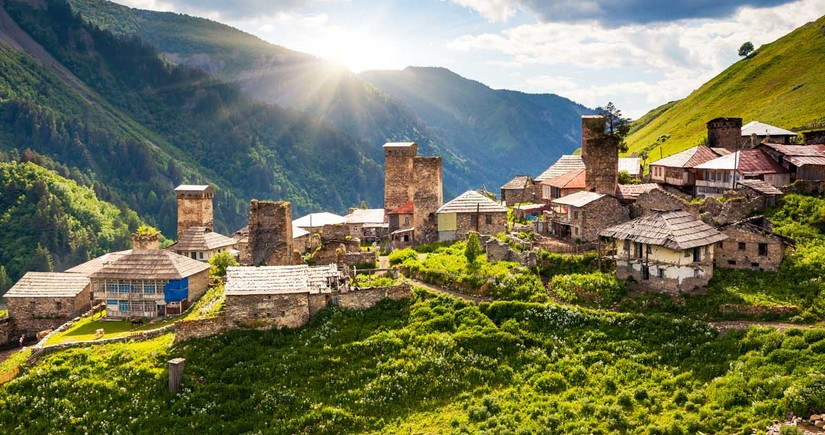 Gürcüstanın turizm sektorunda böhran yaşanır