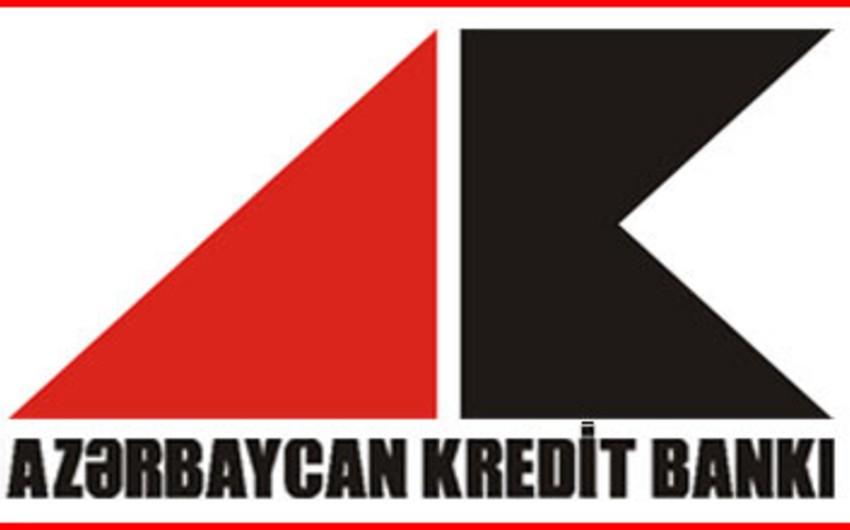 Azərbaycan Kredit Bankının kredit portfelinin 33%-nin vaxtı keçib