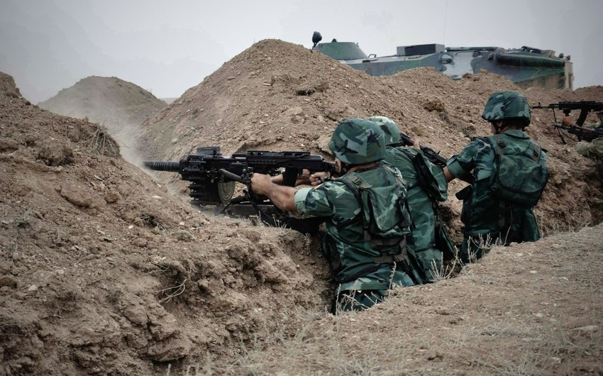 The ceasefire regime is still being violated by the units of Armenian Armed Forces - OFFICIAL INFORMATION