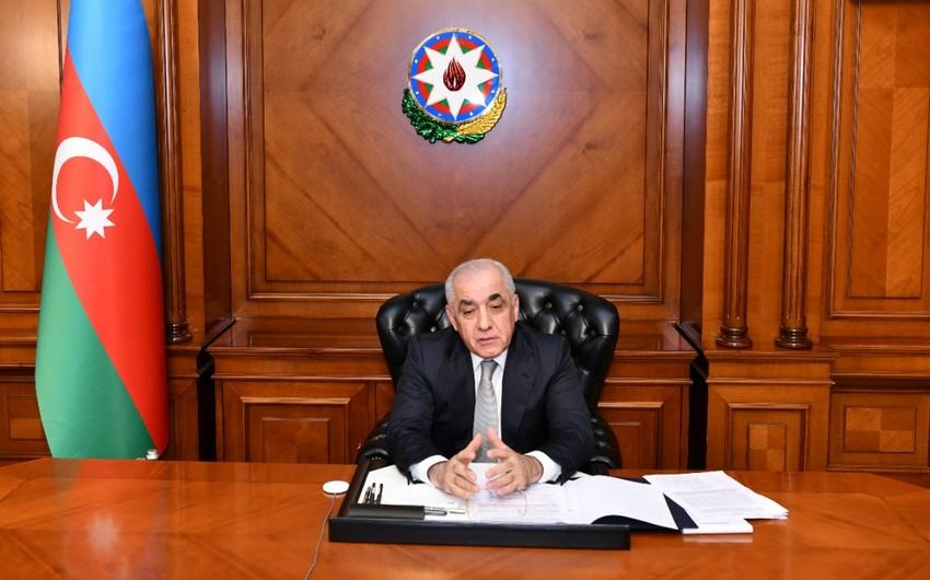 Dövlət Komissiyasının əhaliyə dəymiş ziyanın qiymətləndirilməsi üzrə iclası keçirilib