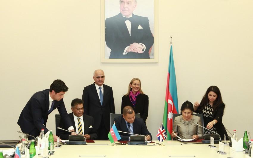 Azərbaycan və Böyük Britaniya arasında Hökumətlərarası Komissiyanın iclası keçirilib