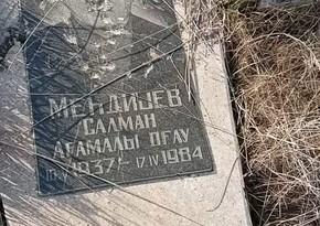 В Джебраиле обнаружены оскверненные армянами могилы