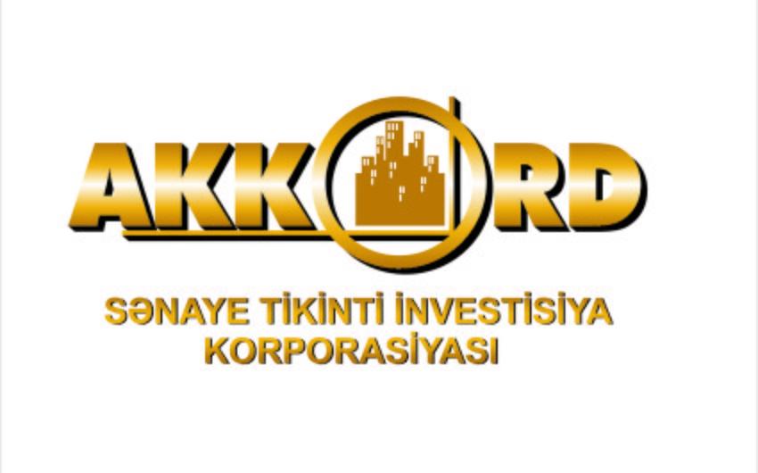 """""""Akkord""""un törəmə strukturunun kapitalı kəskin artırılıb, rəhbəri dəyişdirilib"""