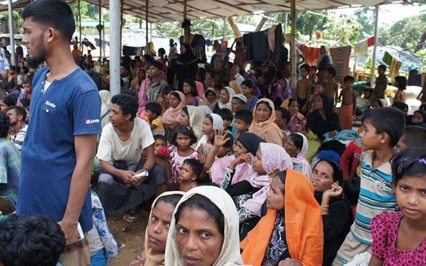 Banqladeşə sığınan Myanma müsəlmanlarının sayı bir milyon nəfərə çatıb