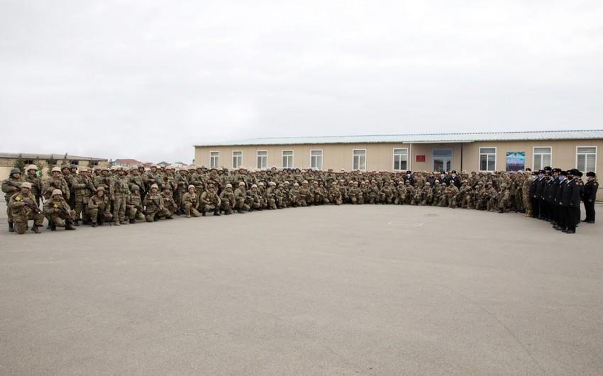 Морские пехотинцы вернулись в пункт постоянной дислокации