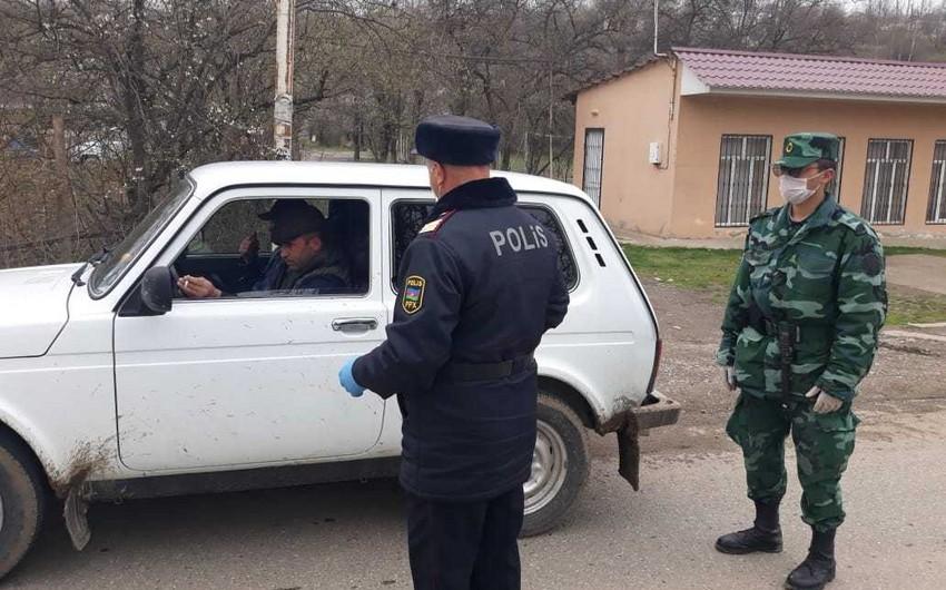 Polis Qusarda profilaktik tədbirləri davam etdirir