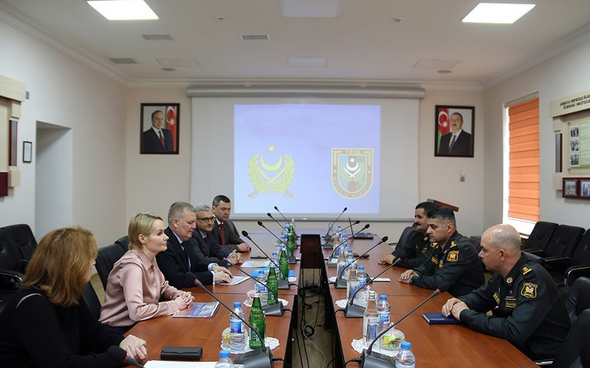 Military financiers of Azerbaijan and Russia hold working meeting