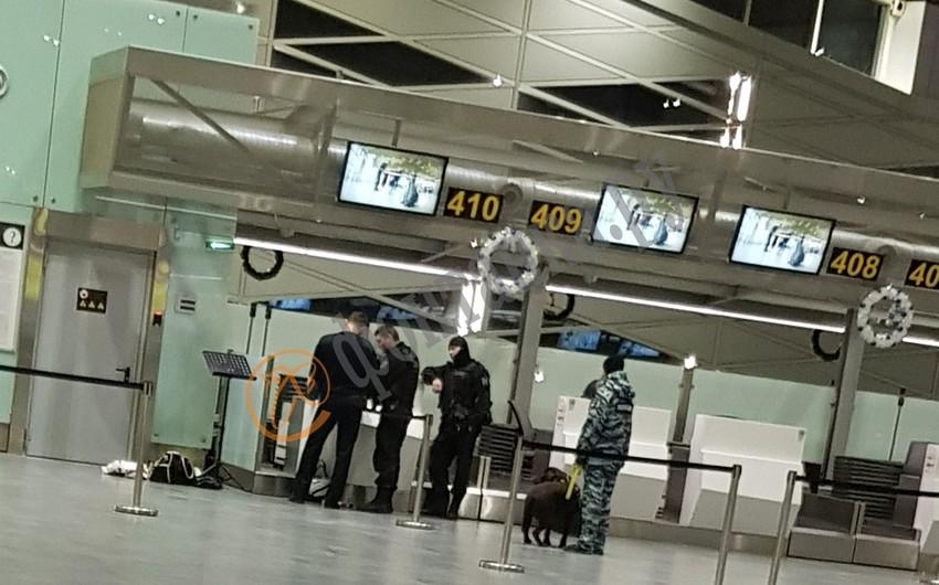 Пассажир рейса в Баку заявил о бомбе в Пулково