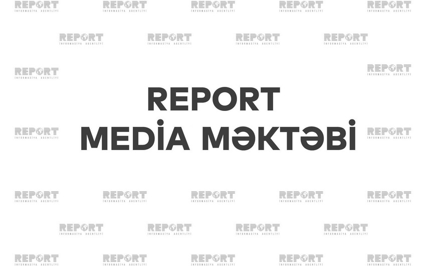Report Media Məktəbində yeni formatda təlim proqramına start verilib