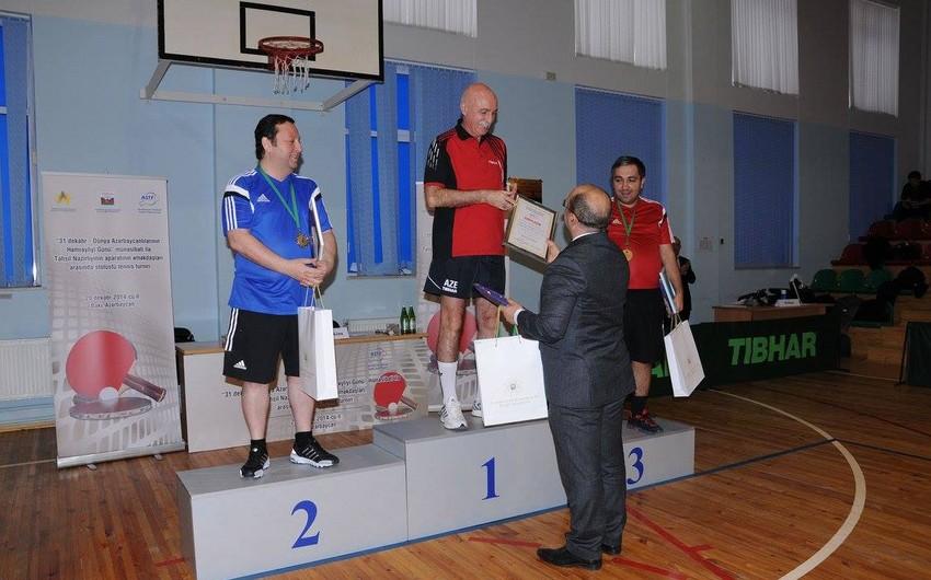 Azərbaycan təhsil nazirinin müavini idman yarışının qalibi olub