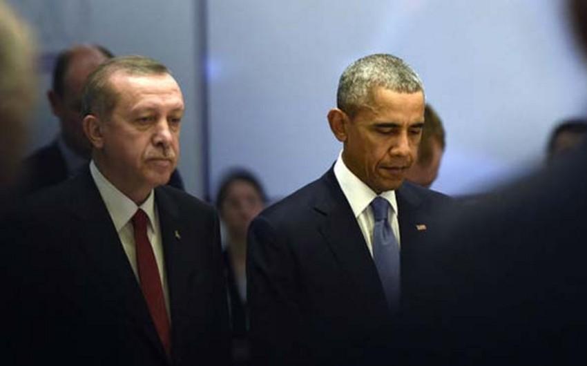 Türkiyə və ABŞ prezidentləri Su-24ün vurulması ilə bağlı insidenti müzakirə ediblər