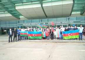 Azerbaijani doctors in Turkey come to provide medical services to soldiers