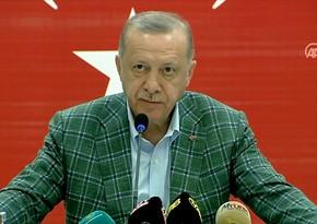 Türkiyə Prezidenti azərbaycanlı yanğınsöndürənlərin gördüyü işlərdən danışdı