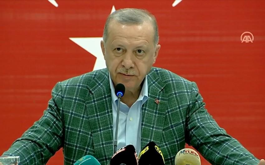 Эрдоган рассказал о работе, проделанной азербайджанскими пожарными