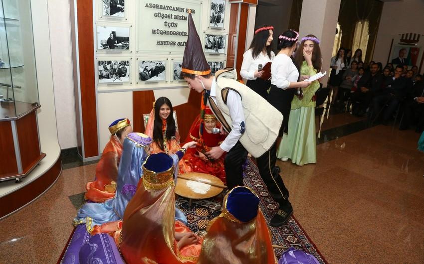 Ağcabədidə xüsusi qayğıya ehtiyacı olan uşaqlar üçün Novruz şənliyi keçirilib