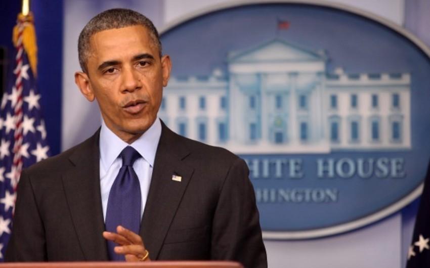 Obama İran ilə danışıqları dayandıracağı ilə hədələyib
