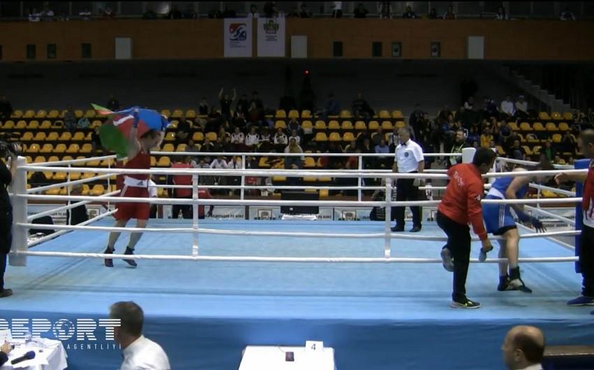 Azərbaycanın qadın boksçusu Avropa çempionu olub - FOTO