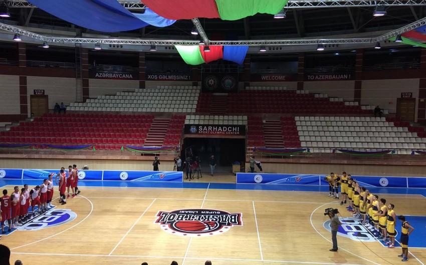 Basketbol üzrə Azərbaycan Super Liqasına start verilib