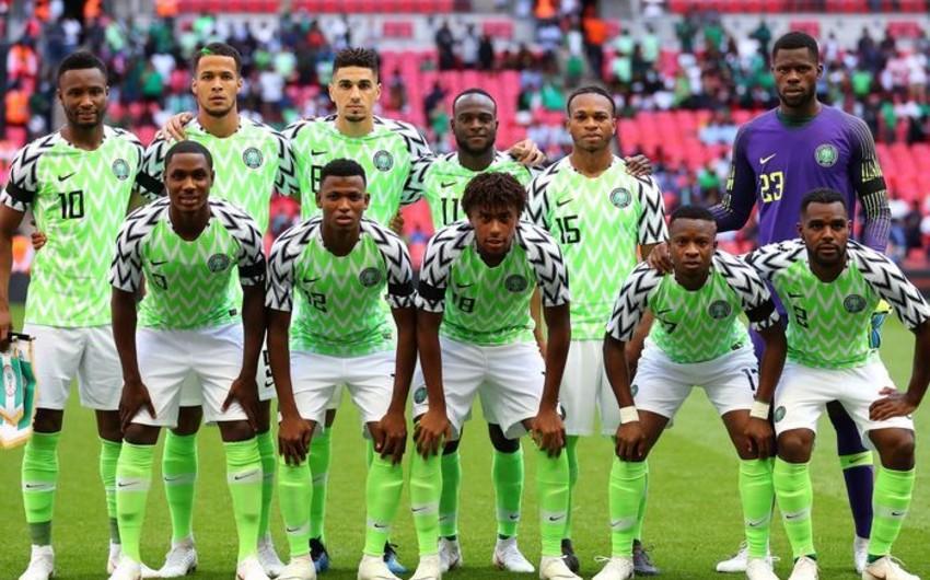 Nigeriya milli komandasının DÇ-2018 üçün yekun heyəti açıqlanıb