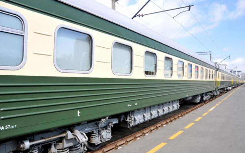 Additional wagons can be attached to passenger trains in New Year days in Azerbaijan