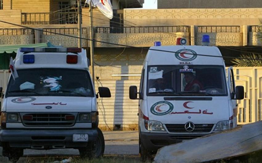 İraqda zəvvarları daşıyan avtobus aşıb, 30 nəfər yaralanıb
